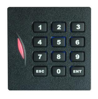 RFID считыватель и клавиатура доступа KR102E